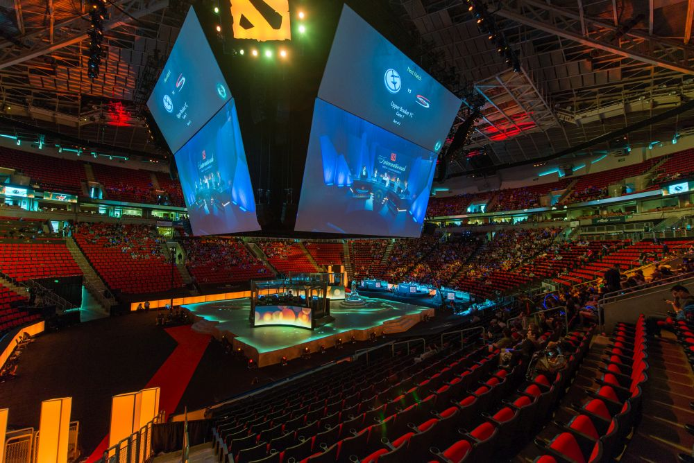 Dota 2 The International 2015 dvorana