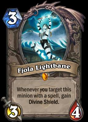 Hearthstone Fjola Lightbane