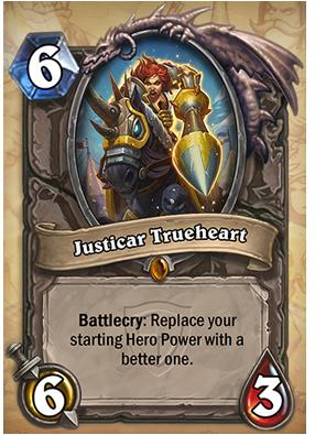 Hearthstone Justicar Trueheart
