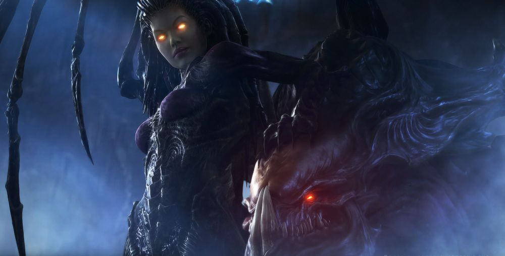 Starcraft 2 Hearth of the Swarm Queen of Blades