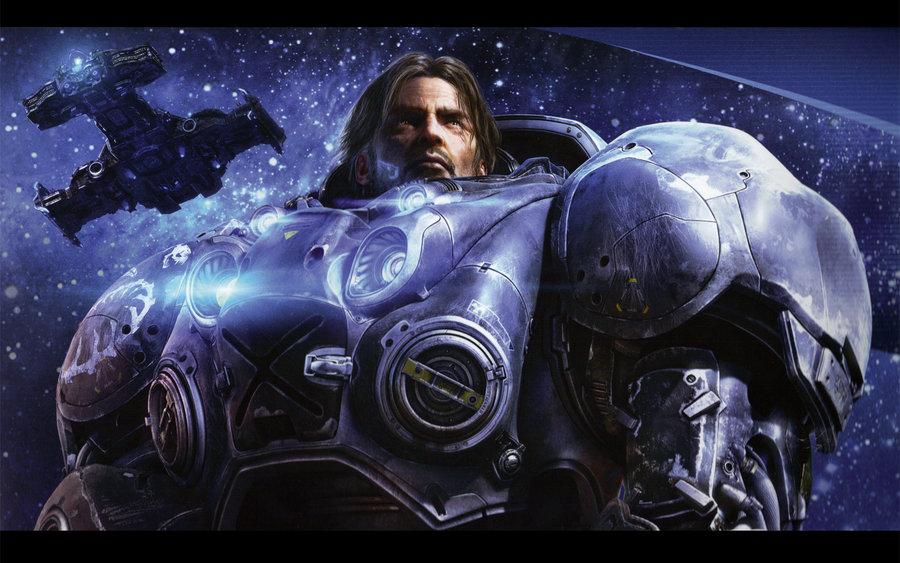 Starcraft 2 Jim Raynor