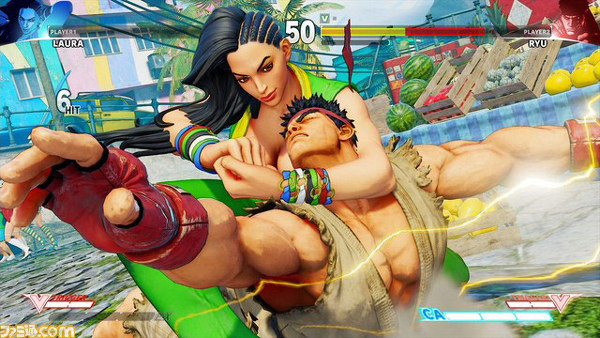 Street Fighter V Laura nesluzbeno