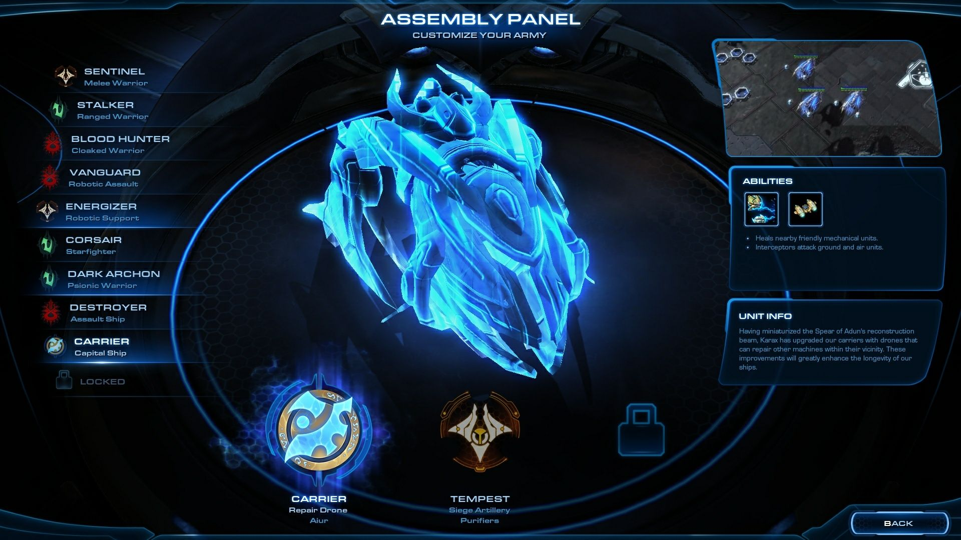 Starcraft 2 Leagcy of the Void screenshot 1