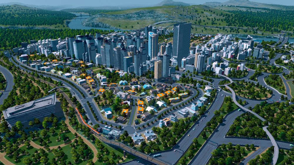 Cities Skylines grad