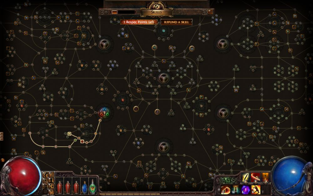 Path of Exile skill tree