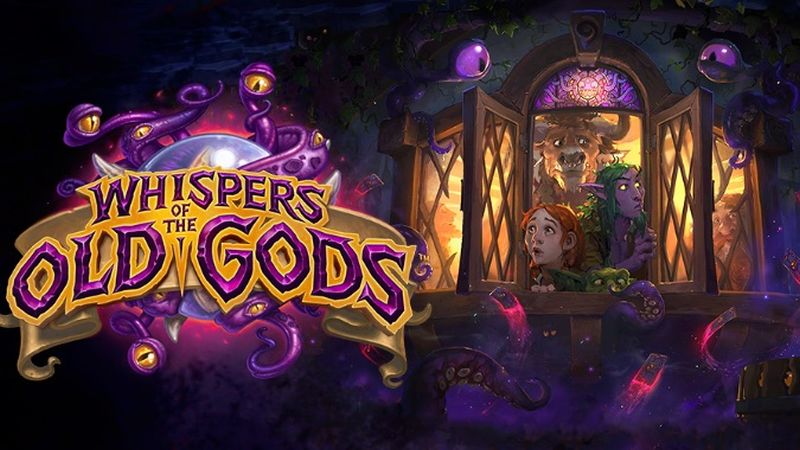 Hearthstone Whispers of the Old Gods