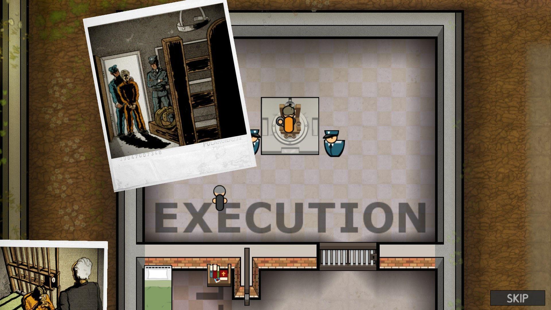 Jedan od načina kako se može napustiti zatvor.