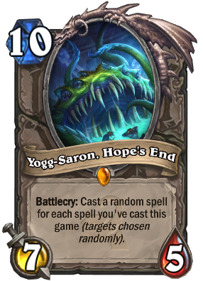 Hearthstone Yogg-Saron
