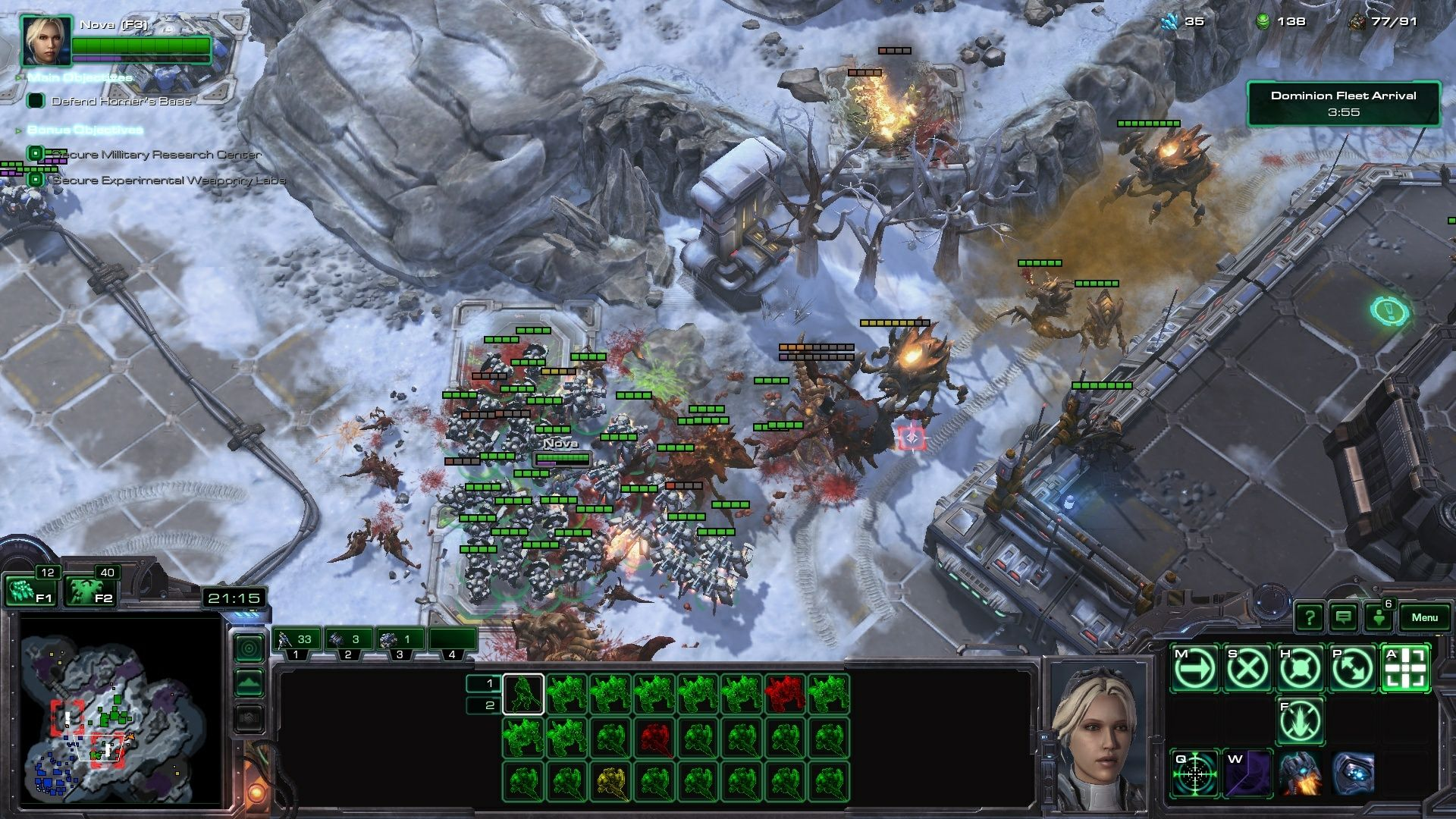 Starcraft 2 Nova Covert Ops P1 Screenshot