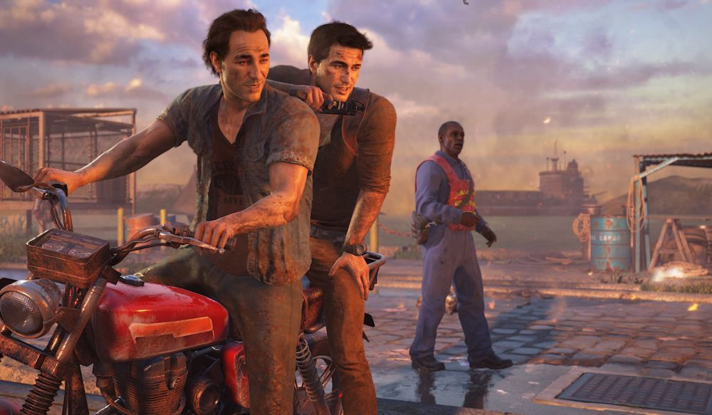 Uncharted 4 A Thiefs End Nathan and Sam Drake