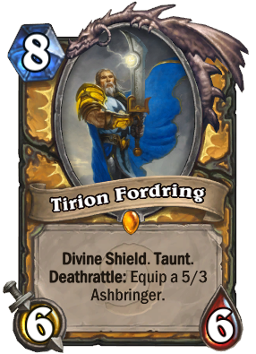 Hearthstone Tirion Fordring