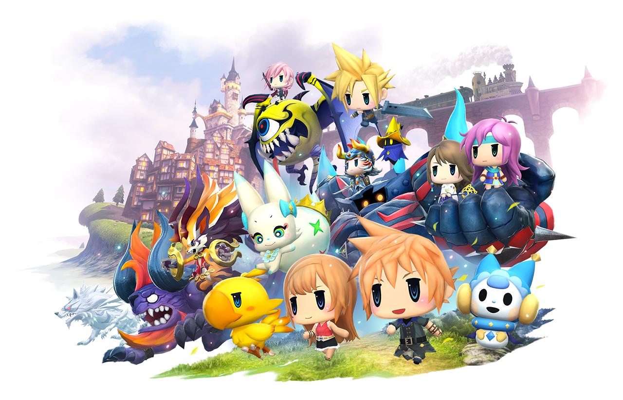 World of Final Fantasy – E3 2016 trailer