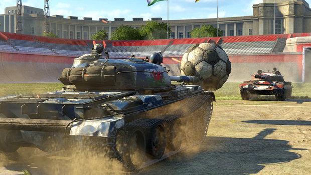 World of Tanks dobiva nogometni mod