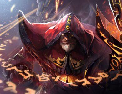 Dota 2 Warlock artwork