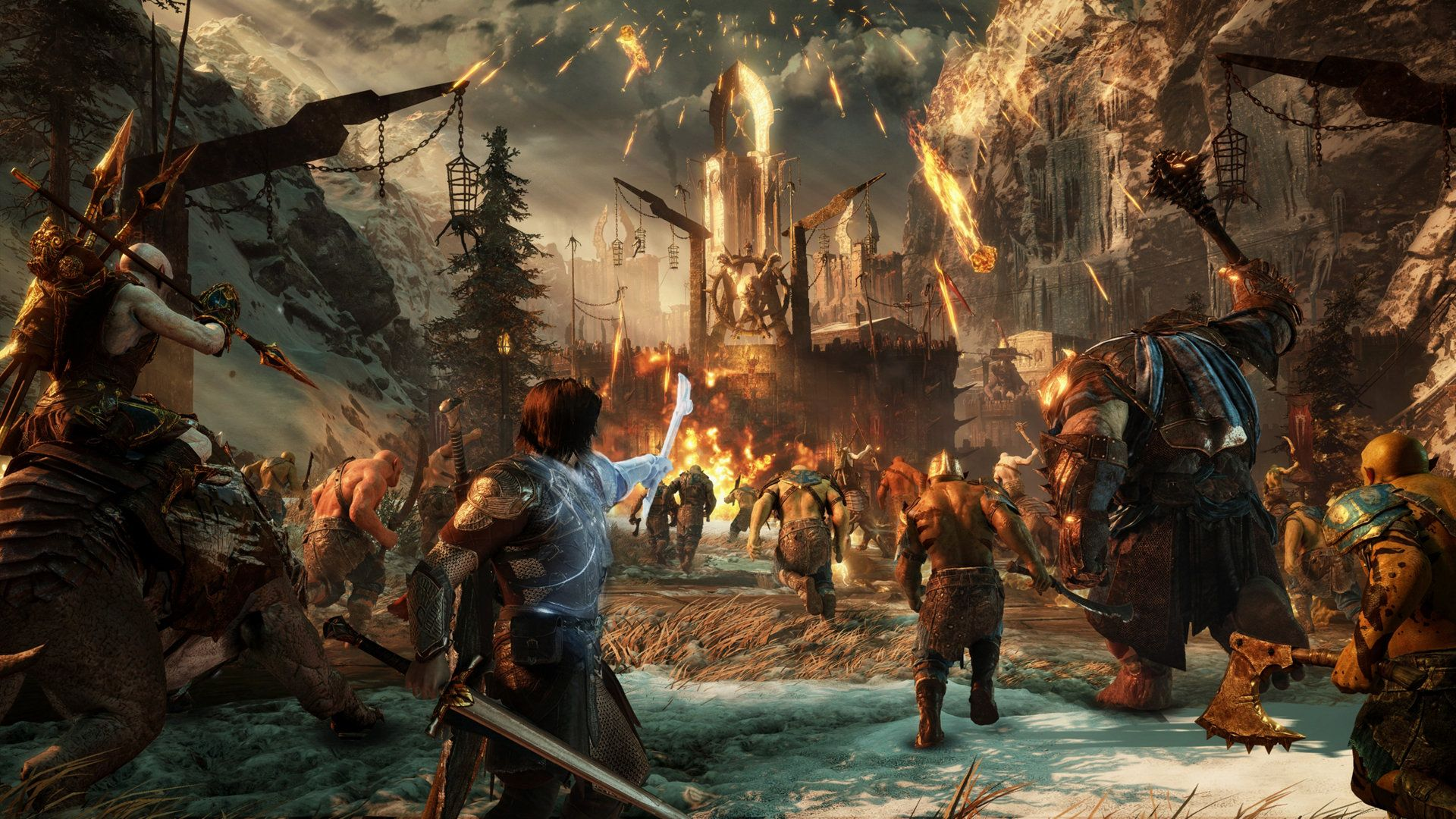 Middle-earth Shadow of War na dobrom putu