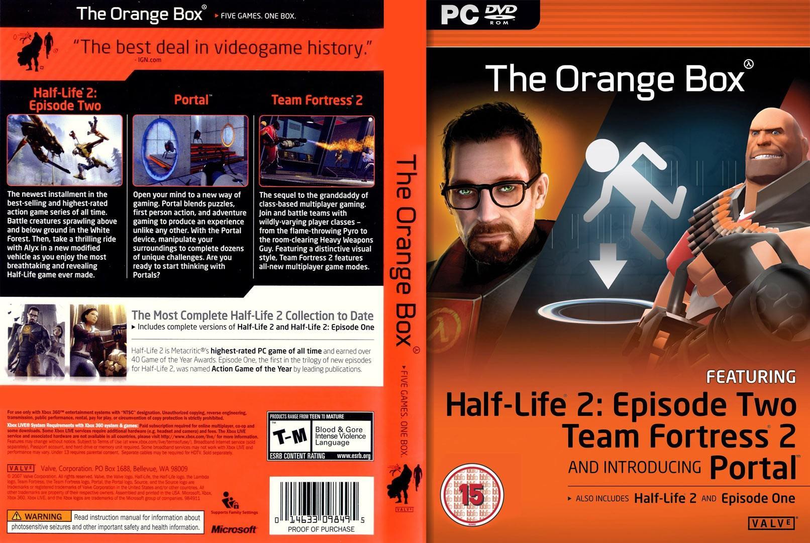 The Orange Box – Deset godina kasnije