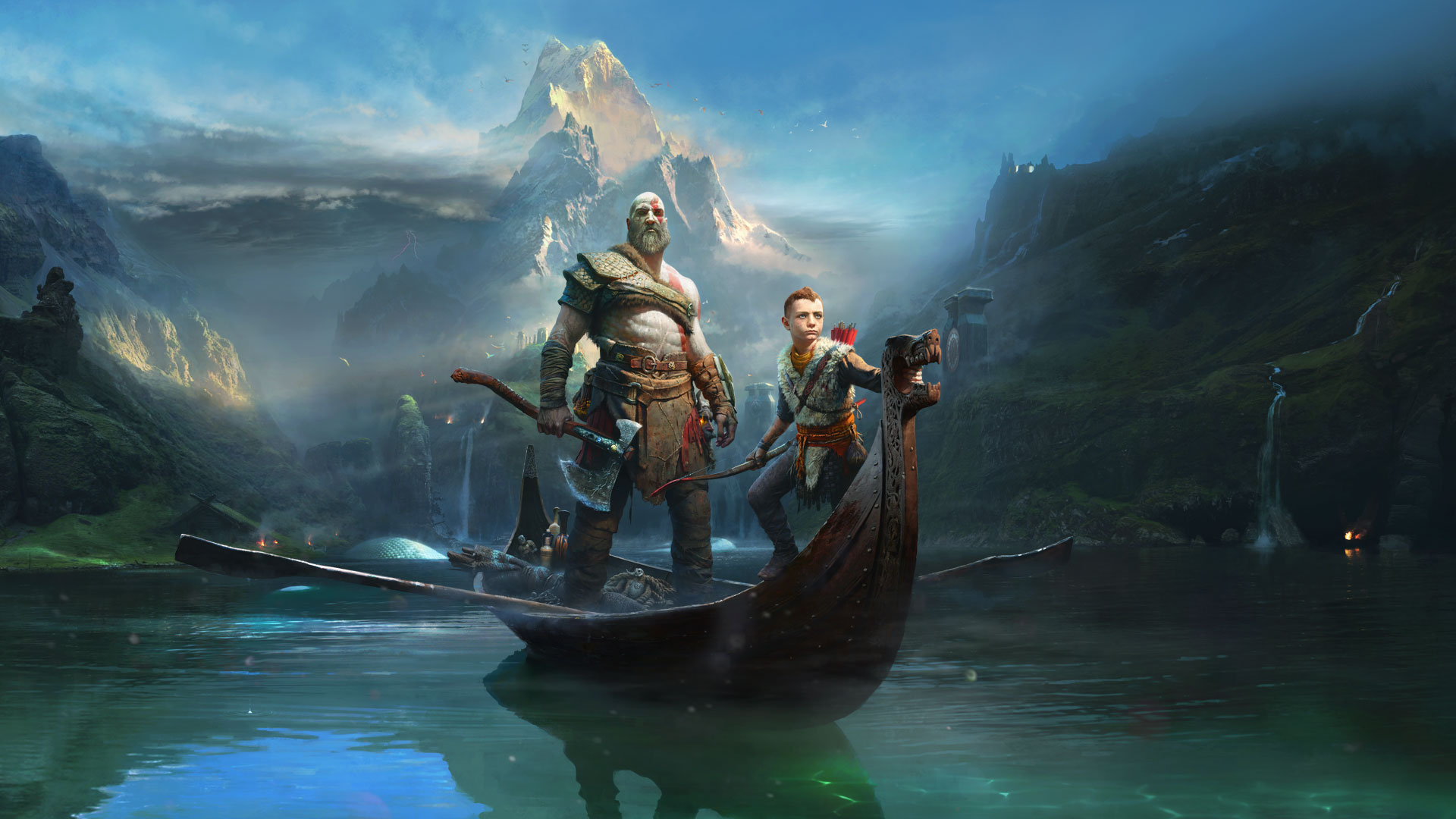 God of War recenzija – Otac i sin
