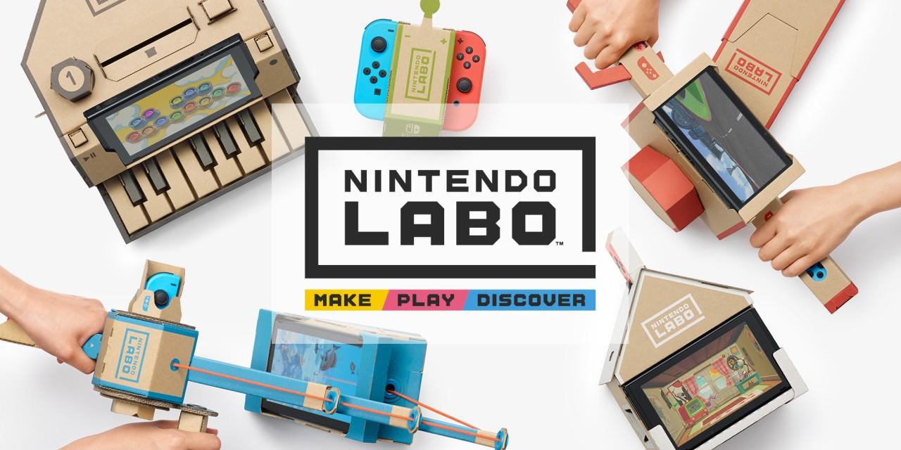 Nintendo Labo donosi kartonsku zabavu