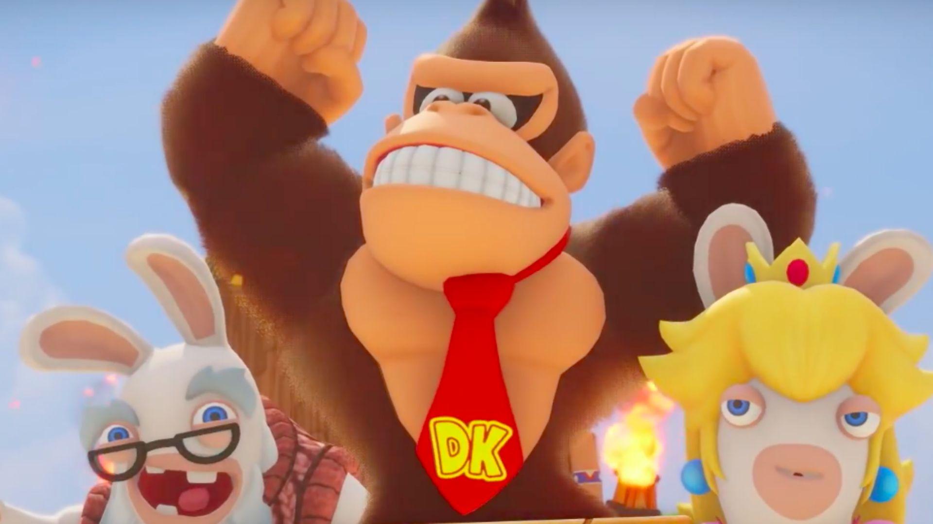 Donkey Kong dolazi u Mario + Rabbids Kingdom Battle kao DLC