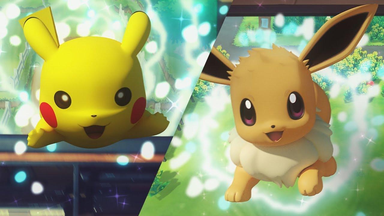 Pokémon Let's Go! Pikachu i Eevee potvrđeni, krajem godine za Switch