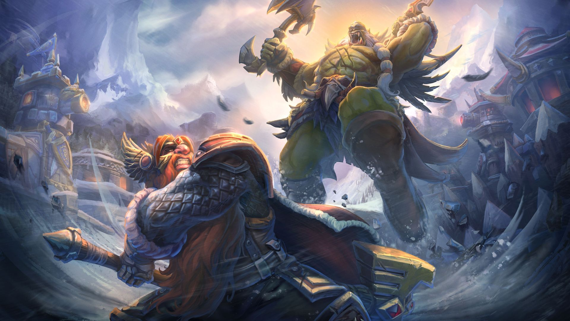 Heroes of the Storm dobiva Alterac Pass mapu