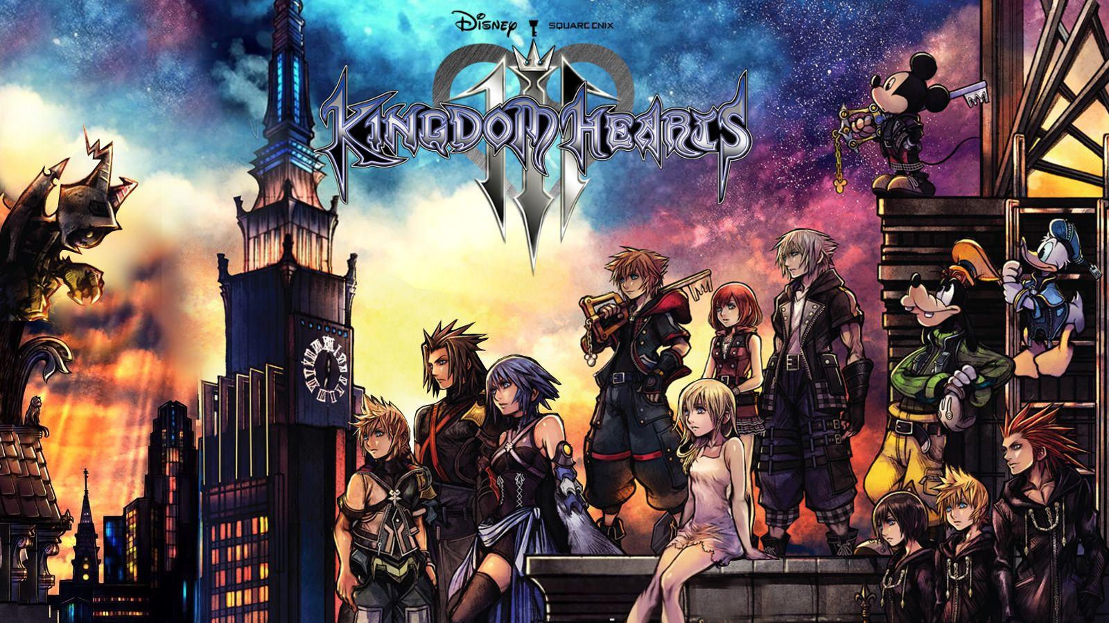 Kingdom Hearts 3 distribuiran u pet milijuna primjeraka