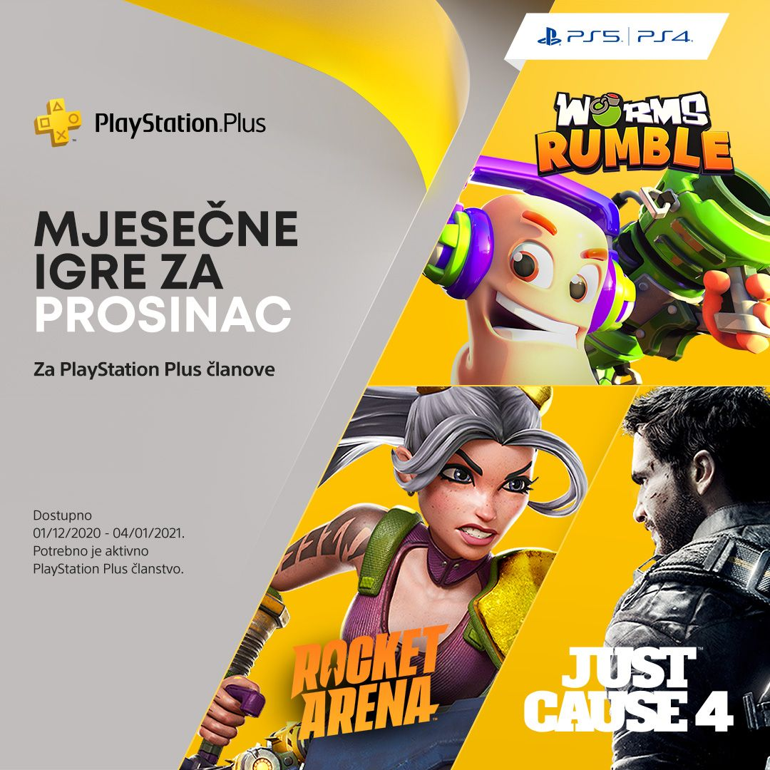 PlayStation Plus igre za prosinac su…