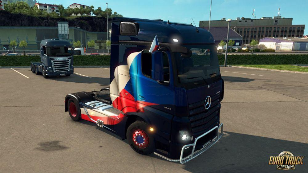 Euro Truck Simulator 2 donosi zastavice na kamione