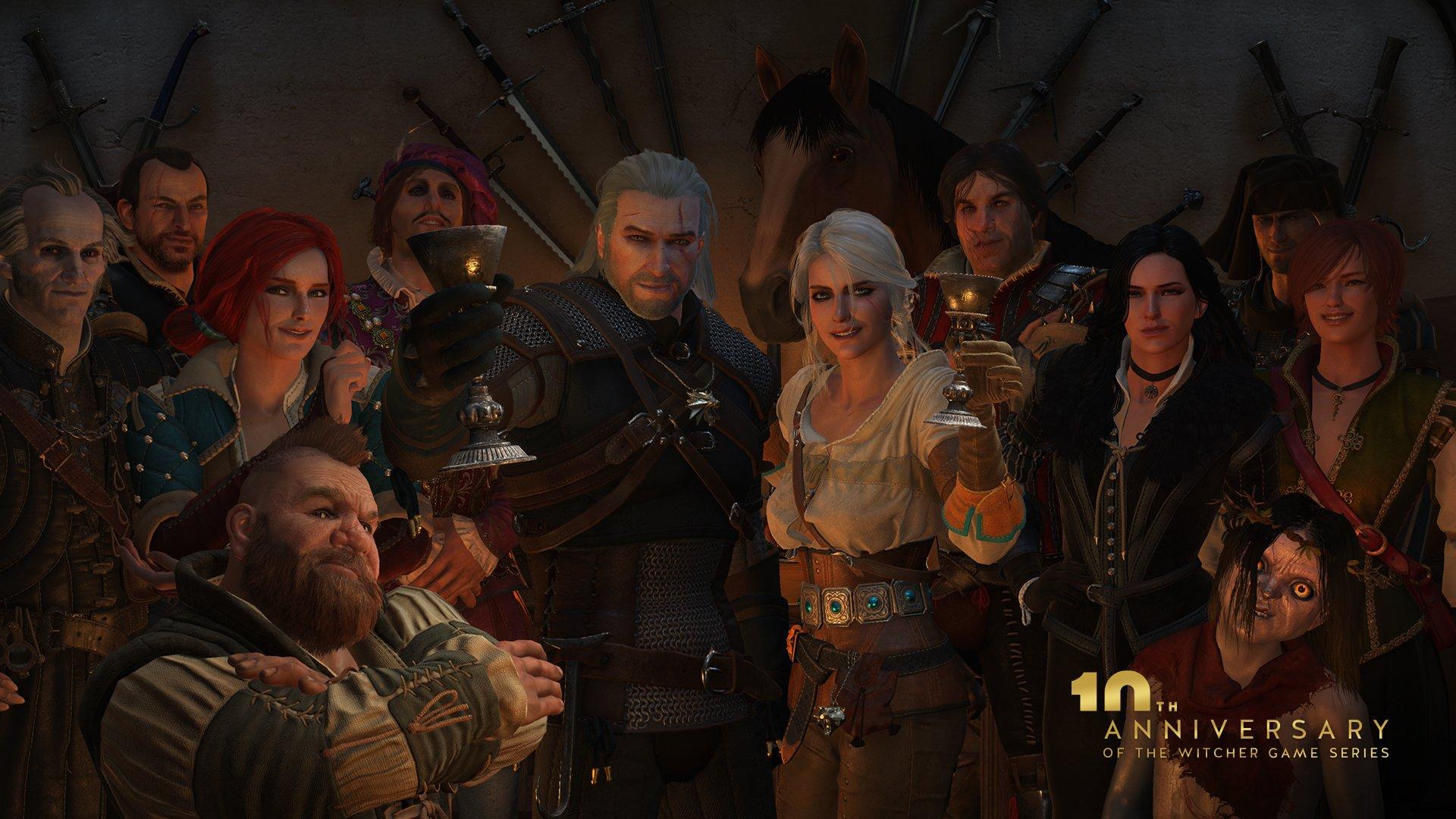 Witcher serijal slavi svoju desetu obljetnicu