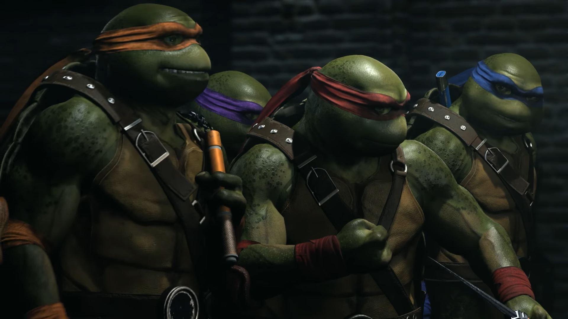 Ninja kornjače dolaze u Injustice 2