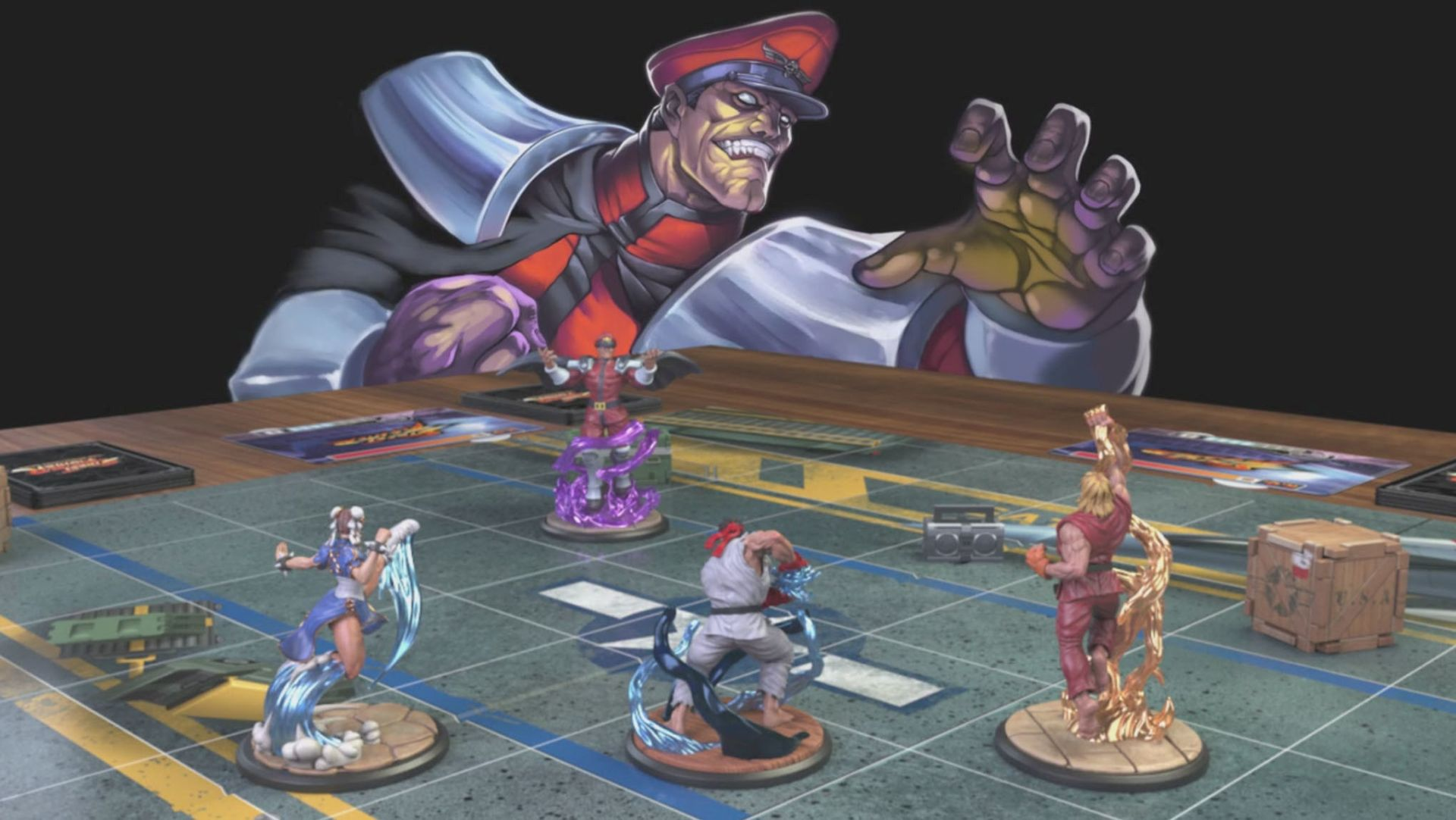 Street Fighter: The Miniature Game skupio traženo na Kickstarteru