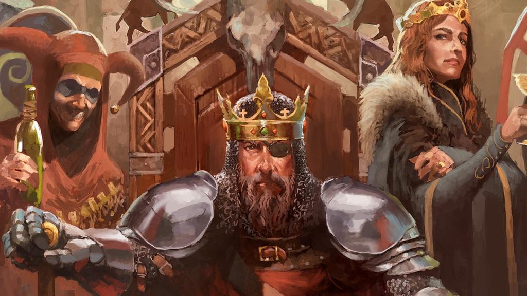Crusader Kings postaju i igra na ploči