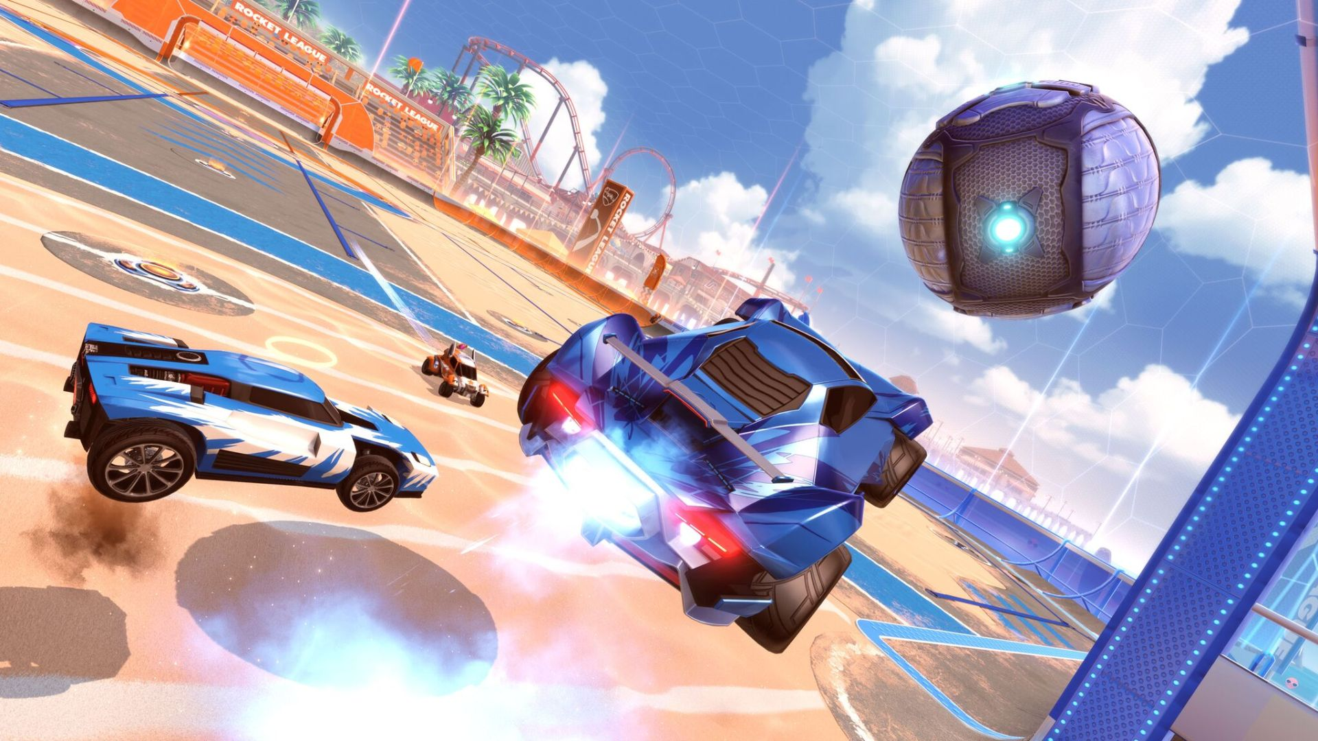 Salty Shores je nadolazeći Rocket League update